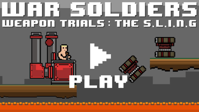 War Soldiers Weapon Trials: The S.L.I.N.G