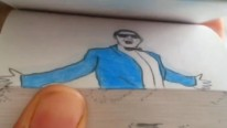 Flip Off Psy! Gangham Style, Animated Flip-Book Style