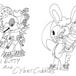 Metal Nutty And Cyber Cuddles