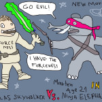 Nicolas Skywalker vs. Ninja Elephant